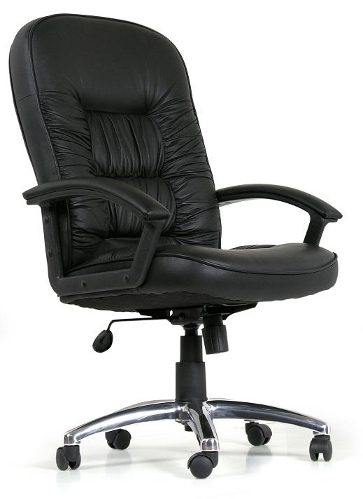 Кресло руководителя CH-418 кожа buffalo, Chairman 418