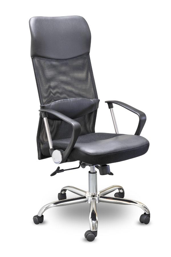 Кресло руководителя MC-040L Директ Лонг (МС-040Л) ткань +PU