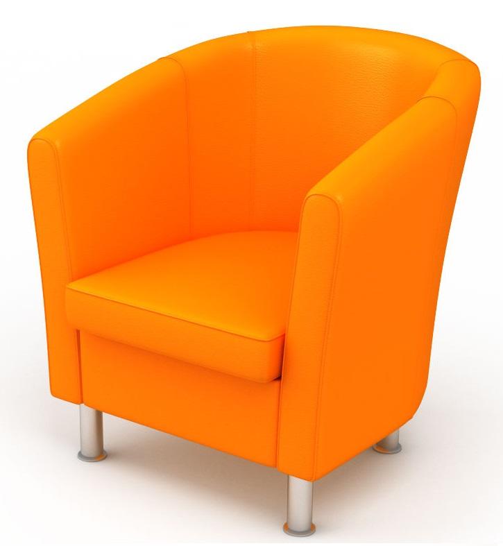 мягкая мебель кресло эллипс искусственная кожа