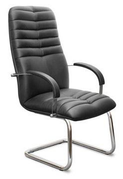 Кресло посетителя K49 Galaxy Гелакси (К49) кожа, хром
