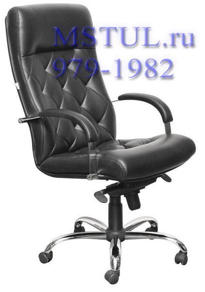 Кресло руководителя K10 Verona Верона кожа, хром