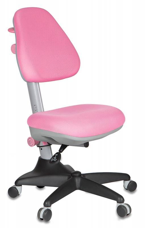 Бюрократ Кресло детское KD-2 ткань розовая TW