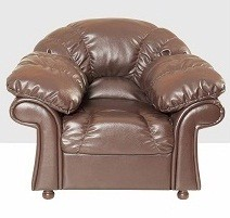 Кресло для отдыха Континент экокожа