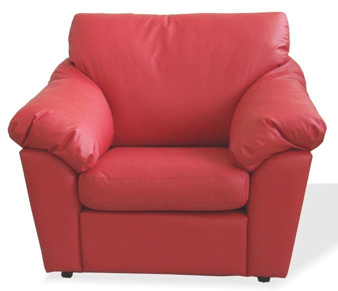 Кресло для отдыха Лагуна экокожа черная Terra 118