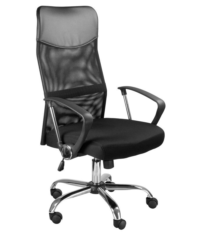 Кресло руководителя MC-040L Директ Лайт (МС-040Л) ткань черная