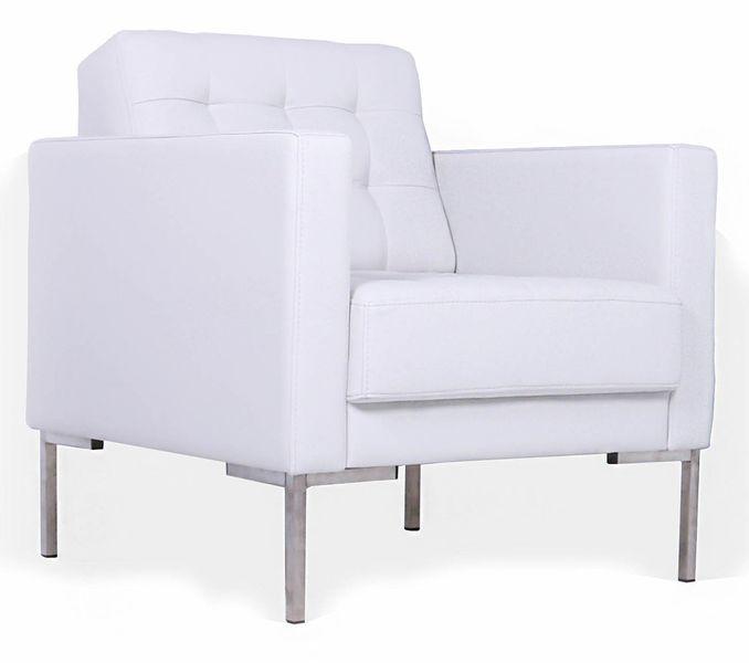 Кресло для отдыха Нэкст экокожа черная Terra 118