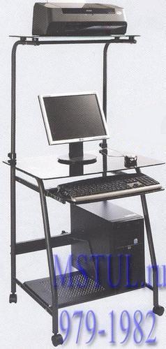 Tetchair Стол компьютерный WRX-03 Prima тонированное стекло