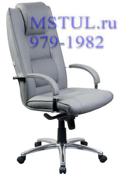 Кресло руководителя C44 Born Борн кожа, хром