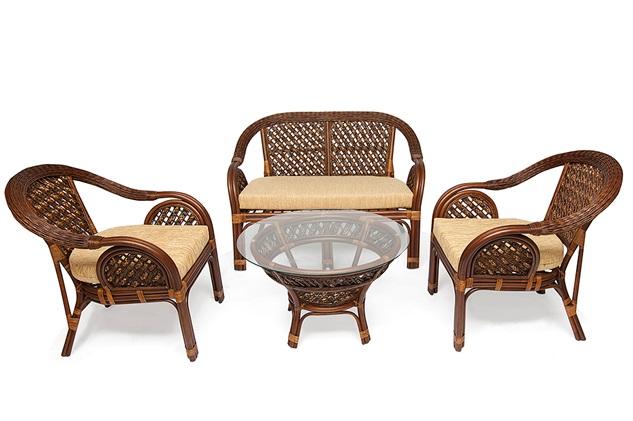 Tetchair Комплект для отдыха из ротанга SHERATON Шератон с диваном