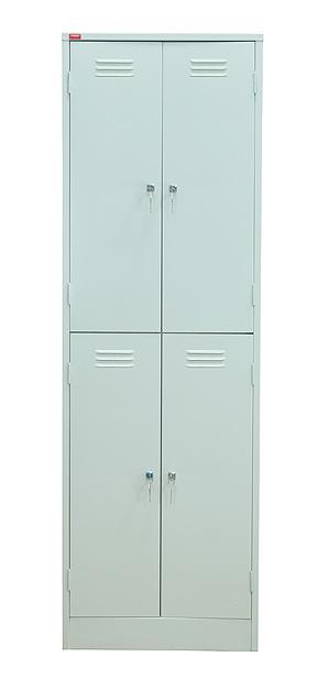 ШРМ-24 Шкаф для одежды металлический 4 отделения