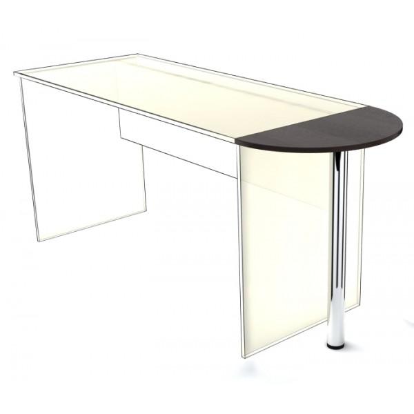 Приставка к столу SP-300 с опорой Simple Симпл легно темный