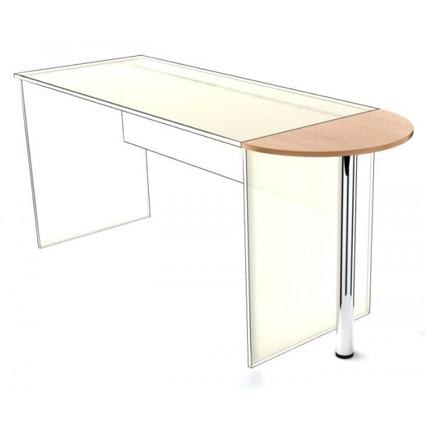 Приставка к столу SP-300 с опорой Simple Симпл легно светлый