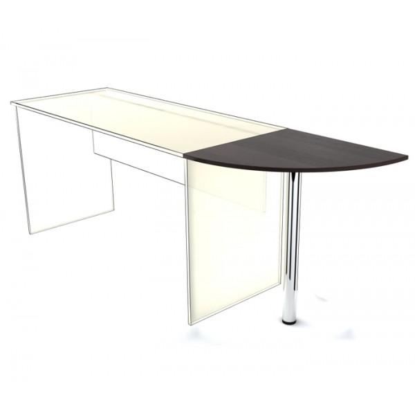 Приставка к столу SP-600 с опорой Simple Симпл легно темный