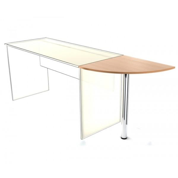 Приставка к столу SP-600 с опорой Simple Симпл легно светлый
