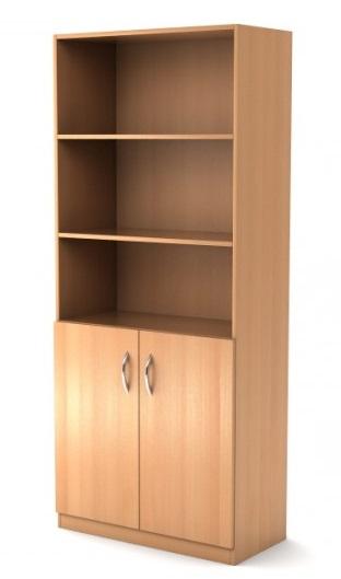 Price4all - шкаф широкий полуоткрытый simple симпл легно све.