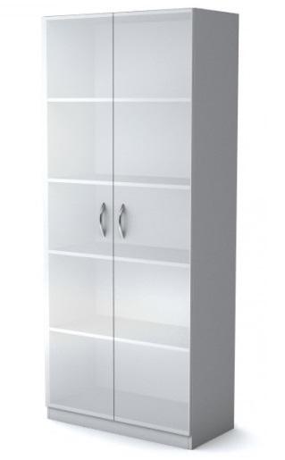 Шкаф широкий Simple Симпл серый