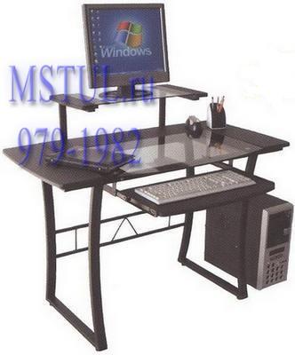 Стол компьютерный WRX-05 Studio стеклянный
