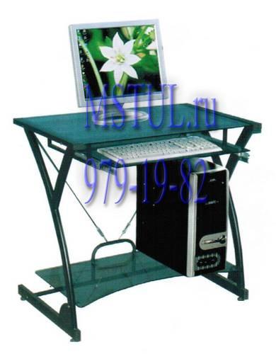 Стол компьютерный WRX-01 Dark Wader тонированное стекло
