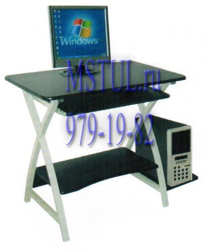 Стол компьютерный WRX-09 Sirius черный